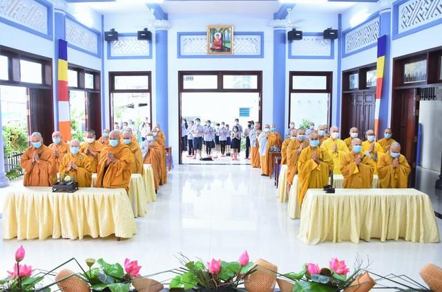 Chư tôn đức Ban Trị sự GHPGVN Tp. Vũng Tàu trang nghiêm tổ chức Đại lễ Phật đản PL. 2565- DL.2021.