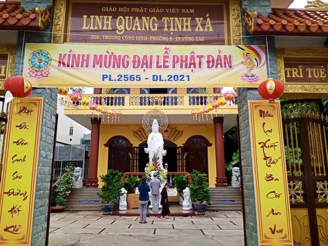 Các tự viện thành phố Vũng Tàu long trọng tổ chức Đại lễ Phật đản PL.5656 – DL.2021